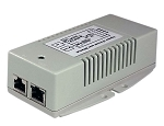 (TP-POE-HP-48DX2) 120/240VAC In, Dual 56VDC 802.3af/at Out 50W